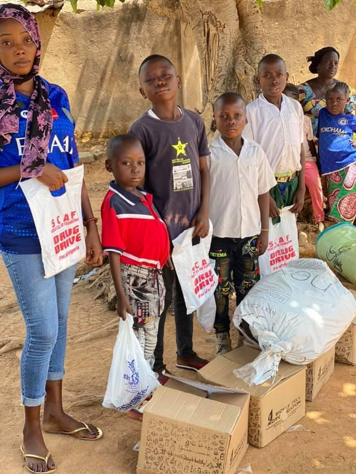 RADi Today, delivered food, clothes and drugs